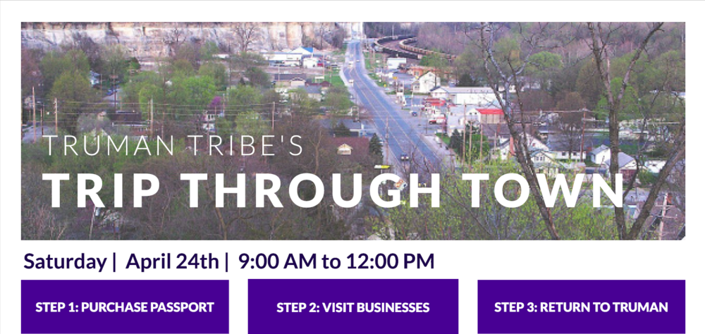 Mark Your Calendars: Truman Tribes Trip Through Town Event
