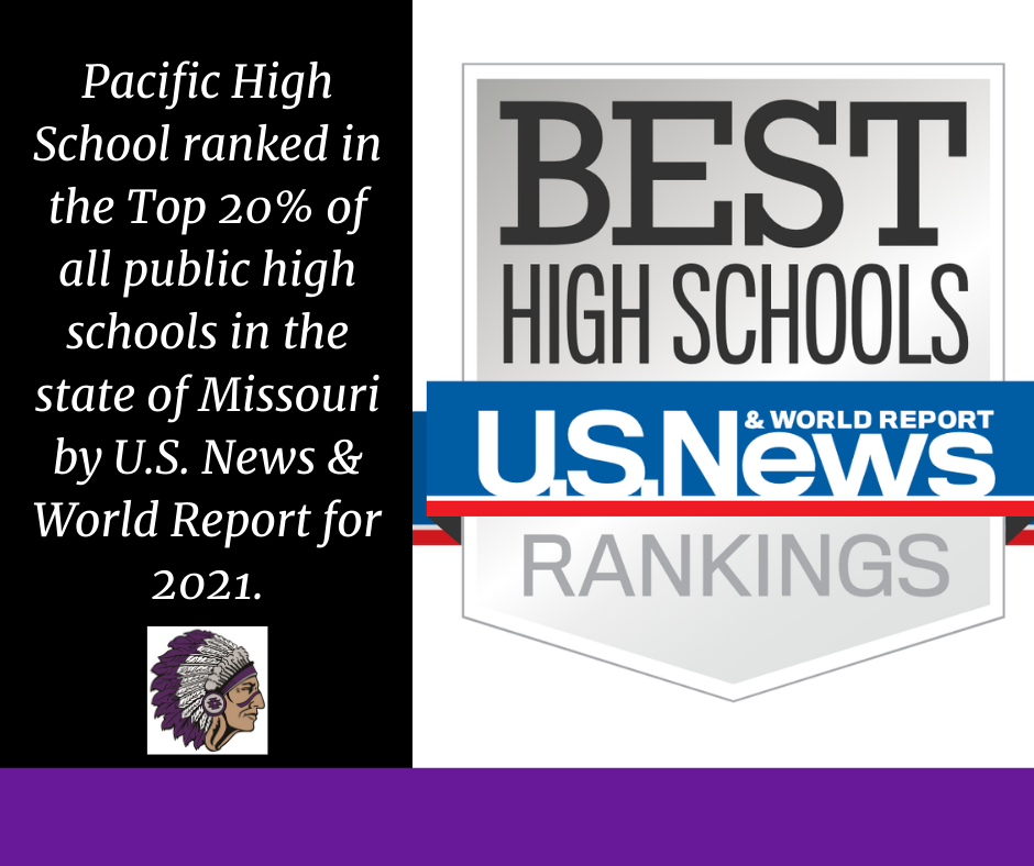 Pacific High School makes the U.S. News & World Report's Best High School's List
