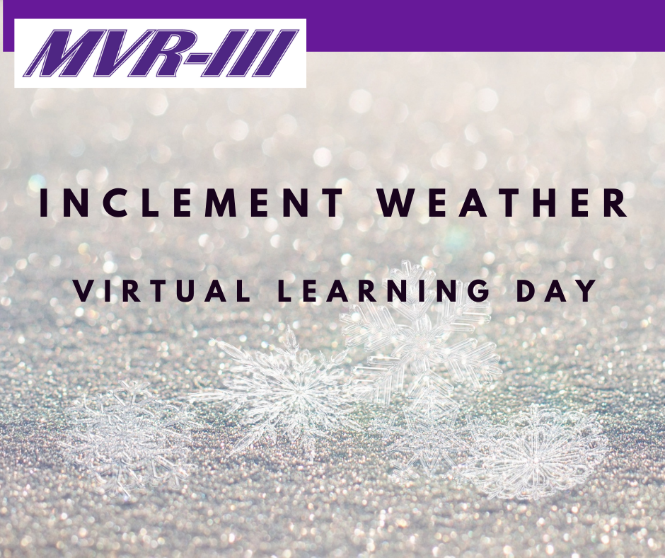 Inclement Weather Virtual Learning Plan