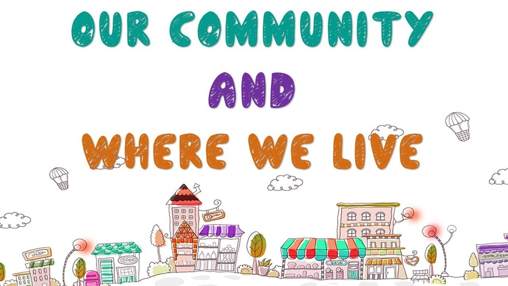 Our Community and Where We Live by Coleman Kindergarten Students