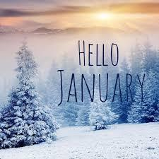 January Information - A Month at a Glance