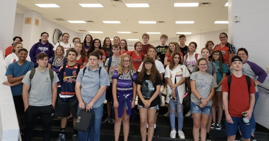 PHS Students Participate in St. Louis Cardinals Career Day