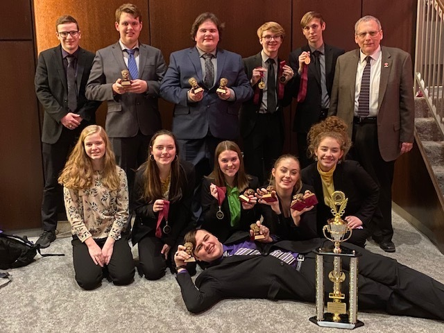 PHS Speech Team Takes First Place