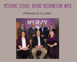 Thank You MVR-III Board of Education
