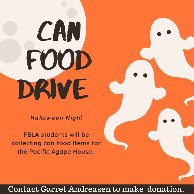 Trick or Treaters Food Drive