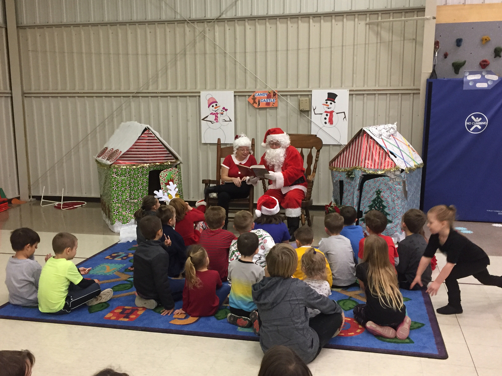 Story time with Mr. & Mrs. Clause