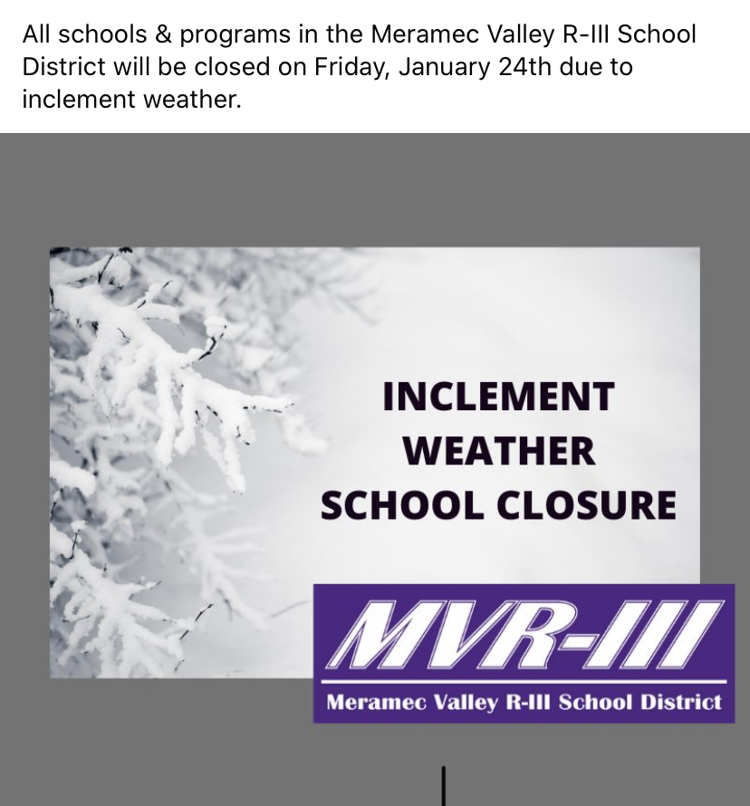 Inclement weather school closure