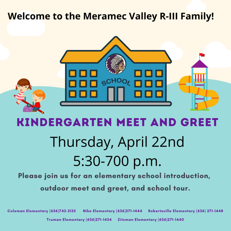 Kindergarten Meet & Greet